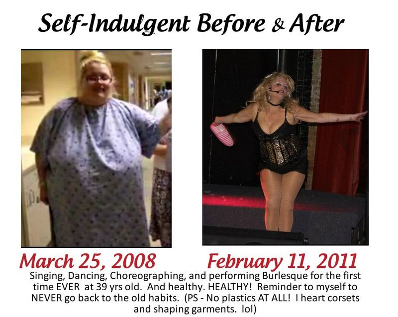 BURLESQUE BEFORE & AFTER