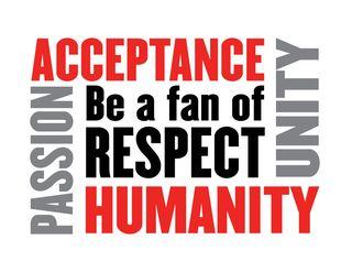 BE A FAN OF RESPECT